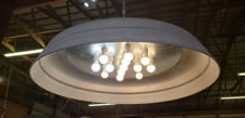 CM MSILDOME-13-46 Contempoary Brroder top Chandalier